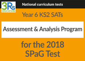 2018 SPaG test assessment & analysis program